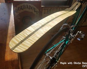 Handmade Wooden Seatpost Fender
