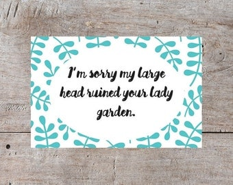 Funny Mothers Day Card, Dirty Mother's Day Card, Mothers Day Apology, Cards for Mothers, Cards for Mum, Mum Cards, Hilarious Mothers Day