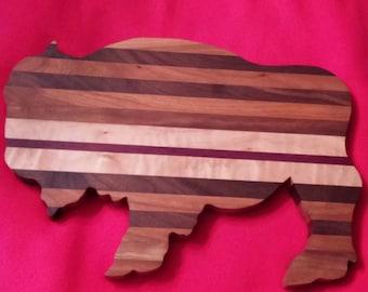 Buffalo Wood Cutting Board