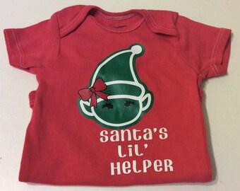 Santa's Li' Helper Shirt