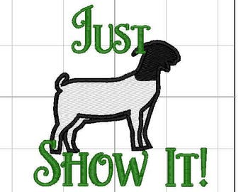 Just show it Goats 4x4