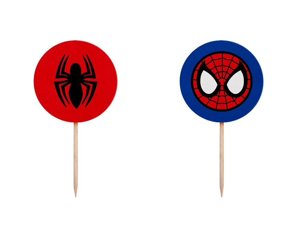 Spiderman Cake Toppers Ireland