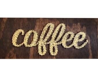String Art- Coffee