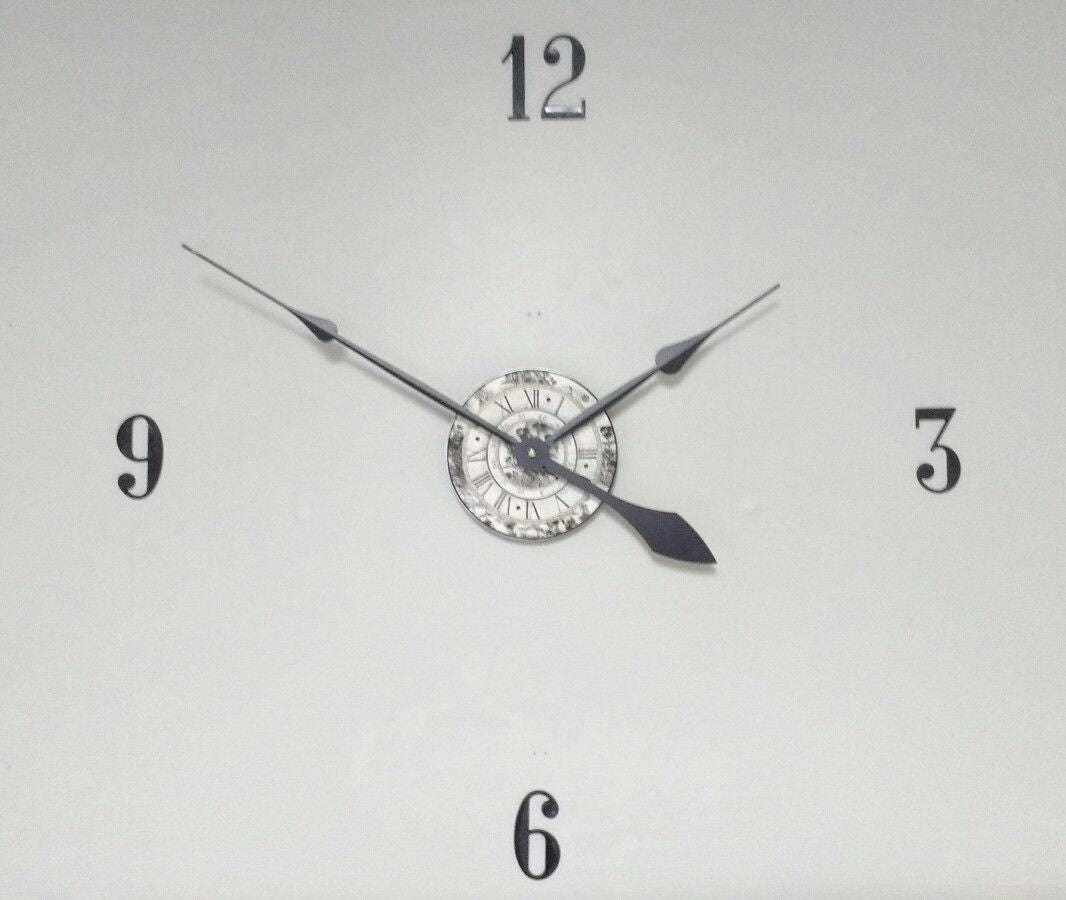 Large 30 wall clock kit complete with hands motor and 3 numbers sold by weaverclockcrafts amipublicfo Image collections