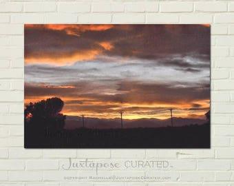 PLATTEVILLE NO. 30 - 5 x 7 print on metal RAWartists San Diego D05-0517