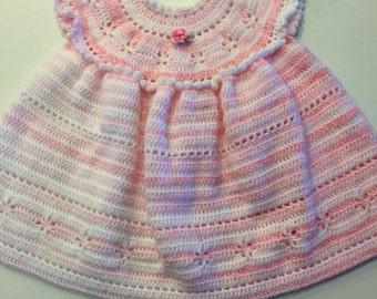 Crocheted Dress for Toddler