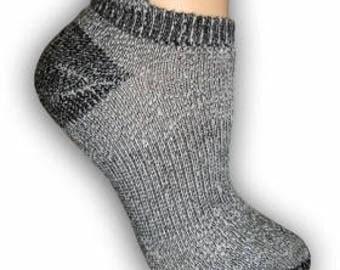 Low cut alpaca socks