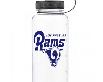 LA Rams Personalized Water Bottle