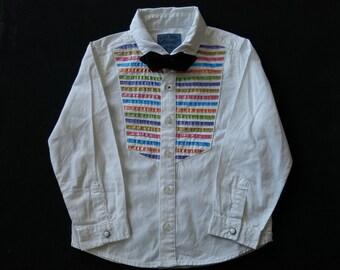 Boy's hand painted shirt