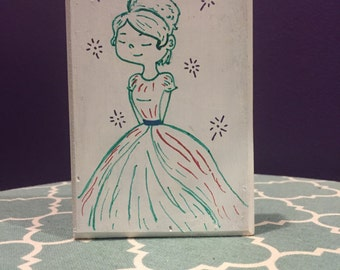 Sparkle Princess Art