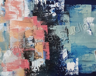 Color Study in Oil - matted Print