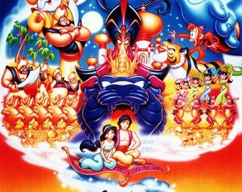 FREE SHIPPING Aladdin movie poster 11x17