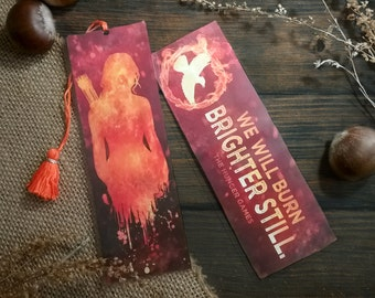 The Hunger Games Bookmark - Homemade