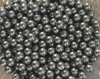100pc Stainless Steel Nail Polish Mixing Balls 4.5 mm