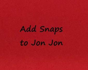 Add Snaps to Jon Jon