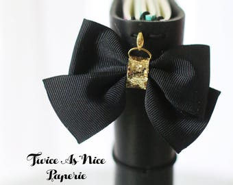 Grosgrain Bow Planner Charm available in many colors