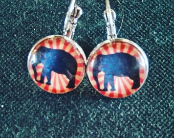 "Earrings ""elephant"""