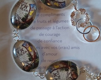 "Bracelet color bronze with reason ""alice"""