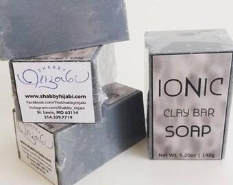 Green Illite Clay, Illite Clay Soap, French Clay Soap, Facial Bar, Facial Soap, Detox, Oily Skin