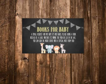 Safari Books for Baby, Baby Shower Books for Baby, Jungle Baby Shower, Safari Baby Shower, Jungle Books for Baby- Digital