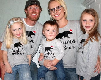 Family Bear Shirts