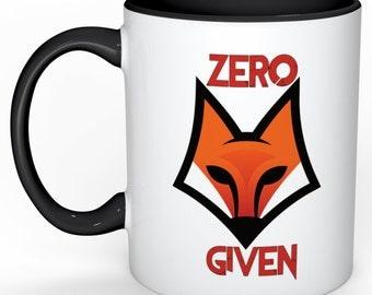 """Zero """"Fox"""" Given mug"""
