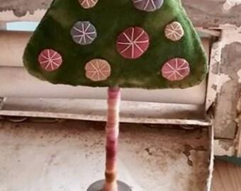 Wool Christmas Tree Handmade