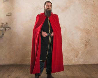 Medieval cloak with hood by Steel Mastery™