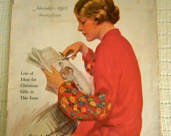 Deco Magazine Modern Priscilla 1925