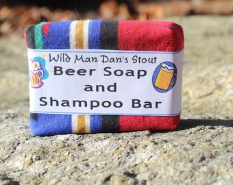 Wild Man Dan's Stout BEER Soap
