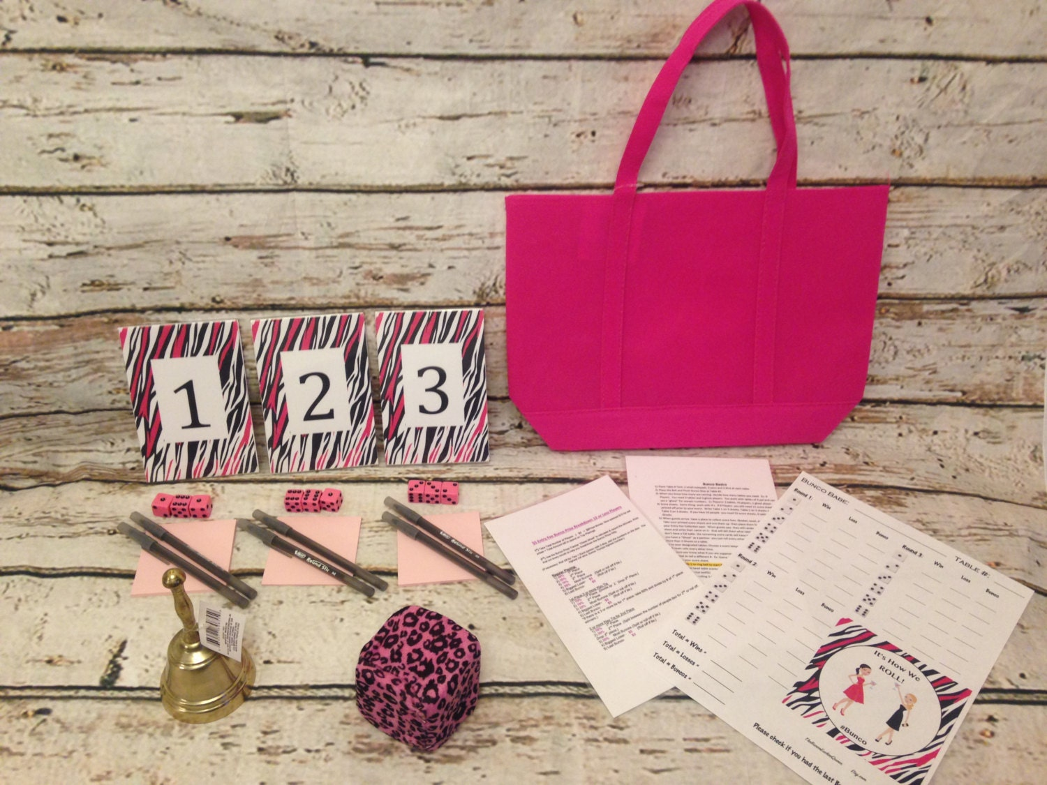 12 Person Basics Budget Bunco Starter Kit All The Basics You