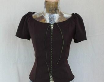 Women's blouse,Renaissance blouse, Rustic blouse, Pirate blouse pirate clothing rustic clothes