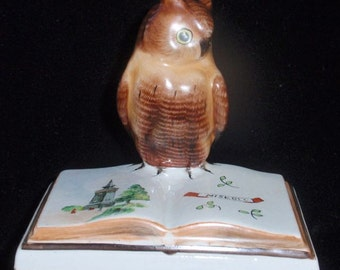 Vintage Ceramic Owl from Hungary