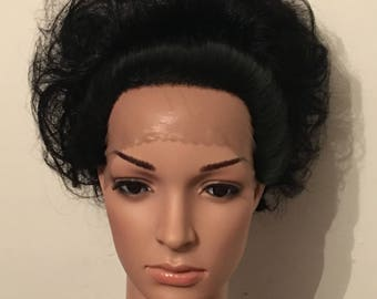 Lace front high bun Wig, wigs,