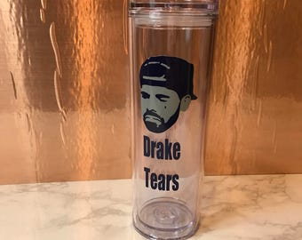 Drake Tears Acrylic Tumbler