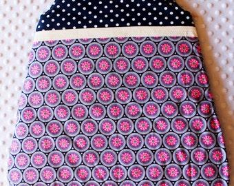 Sleeping bag / Sleep sack 0-6 month - Pink White Blue