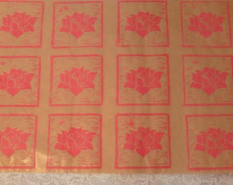 Pink Lotus Flower (giftwrap)