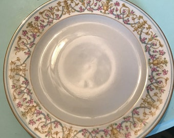 H&C SELB Bavaria Germany Heinrich china Rococco plates