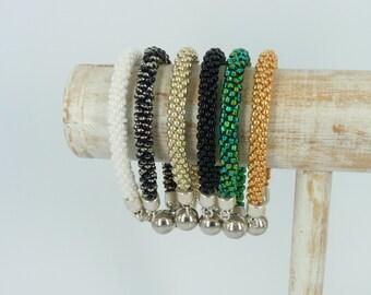 Kumihimo bracelet Twist