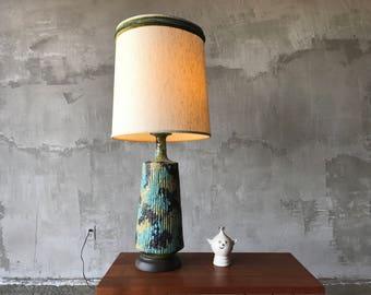 Beautiful ceramic lamp