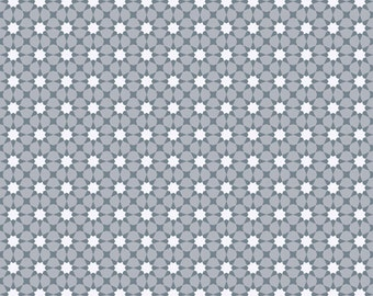Seventy-Six by Alison Glass Sunshine in Grey Skies A-8448-C cotton fabric andover modern material quilting supplies white dots sun