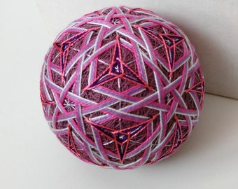 Handmade Japanese Temari Ball Star