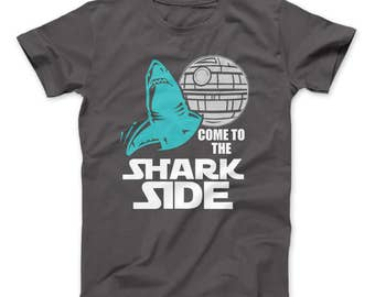 Shark Shirt For Shark Lovers Come To The Shark Side T-Shirt