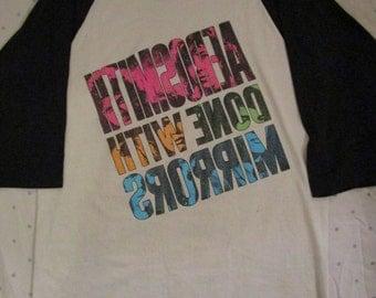 Vintage Aerosmith Shirt Done With Mirrors 1986 Tour Shirt Rare Steven Tyler Joe Perry Rolling Stones Guns n Roses AC/DC Motley Crue Shirt