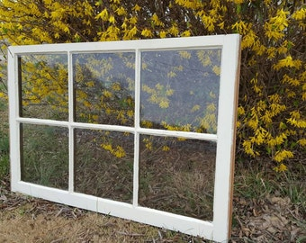 32x24 6 six pane farm house wedding pinterest window sash frame ivory