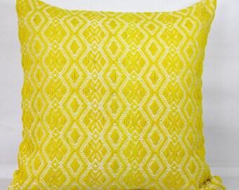 Lemon pillow yellow throw pillow covers 20x20 yellow pillow cover 24x24 euro sham 26x26 mustard designer pillows throw pillows decorative