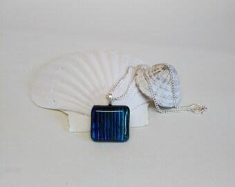 Dichroic Shimmer Pendant