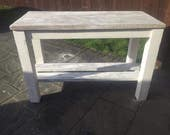 Rustic bespoke kitchen island faux finish open to offers