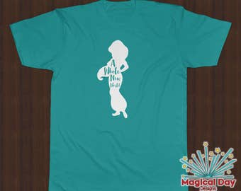 Disney Shirts - A Whole New World - Jasmine - Aladdin
