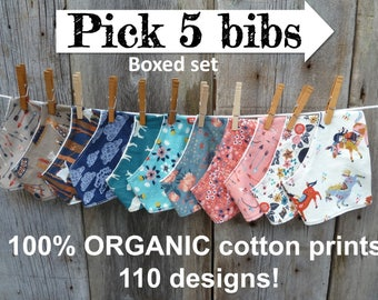 Organic bandana bib, Bandana bib boy, Bandana bib girl,Organic baby bib,Organic baby clothes,Organic baby gift,Teething bib,Baby shower gift